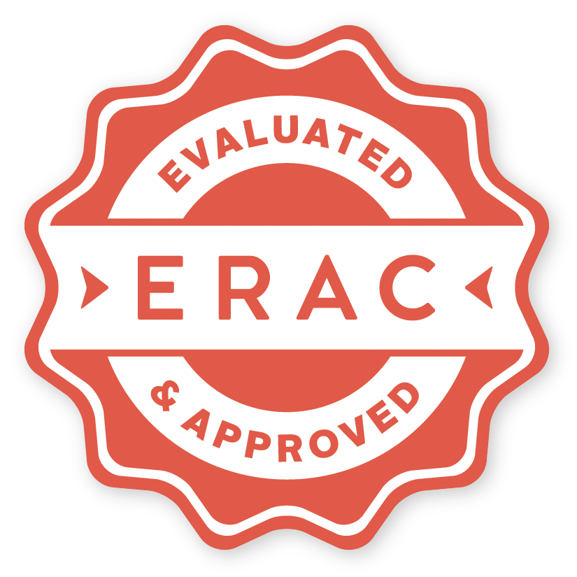 ERAC Evaluated and Approved